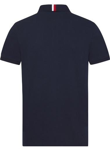 Tommy Hilfiger Erkek Texture Badge Polo Tişört MW0MW05153 Renkli